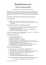 How To Make Your Own Board Game Instructions Worksheet For 3rd