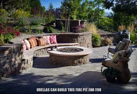 Patio Steps And Fire Pit In Belgard Dublin Style Pavers Yelp