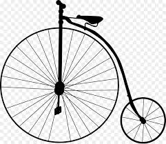 Penny Farthing Bicycle Wheel Clip Art