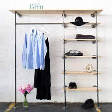 various kleiderschrank im industrial design kleiderständer offener schlafzimmer schrank wand garderobe im flur schwarz stabil metall