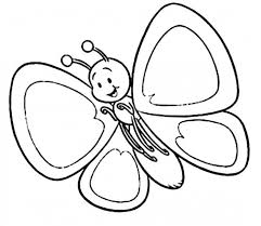 Butterfly Coloring Page Print Pages Printable