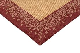 sisal teppich santa hellbeige mit bordüre ellei 140 x 200 cm