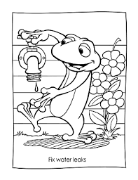 Earth Day Coloring Sheets Free Download