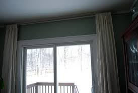 back tab curtains on traverse rod home design ideas