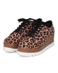 women qupid prado 06 almond toe lace up double stacked creeper