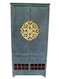 esszimmerschrank royale thai antik grün möbel