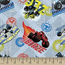 Nickleodeon Blaze And The Monster Machines Print Fabric | Fabric ... Amazoncom Fleece Trucks Monster Truck Racing Checkered Flags Fabricworm Unique Childrens Fabric For Quilting Crafting Nosew Blanket Etsy 27 Adorable Sewing Patterns For Stuffies Plushies Stuffed Animals Modern Quilt Tutorial Therm O Web Joe Boxer Boys Pajamas Organic Sweat Buy Fabrics At Stoffonkel Jersey Swea Micro Print Monster Trucks Printed By Lauren Moshi Maglan Neon Boyfriend Raglan Fleece Blanket And Get Free Shipping On Aliexpresscom