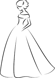 Elegance clipart prom dress 2