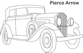 Classic Car Coloring Pages The And
