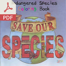 Click The Endangered Species Coloring Book Pdf