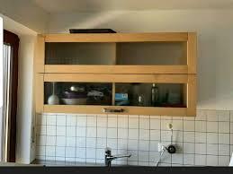 küchen hängeschrank glas