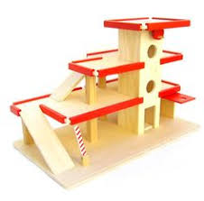 plantoys parking garage set toys sons and brother