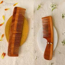 Neem Wood Combs Set Of 2