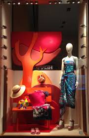 Italy The Fashion Windows Of Milan Are All So Inspiring Like This Hermes Window Themed Take