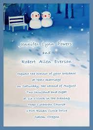 Image Of Unique Winter Wedding Invitations Ideas