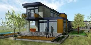101 Simpatico Homes Orinda Rear Deck Modernprefabs