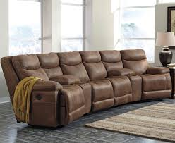 Movie Theatre With Reclining Chairs Nyc by Signature Design By Ashley Valto Reclining Sectional With Angled