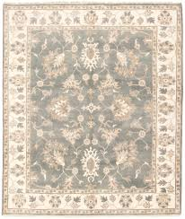 100 Aiko Designs OneofaKind HandKnotted 84 X 910 Wool BrownCreamDark Gray Area Rug