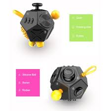 Fidget Dodecagon Has 12 Sides With Each Side Featuring Something Different To