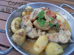 cuisiner du congre congre a la portaise recettes voyageuses de barbara