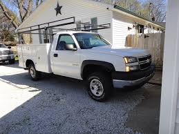 100 Used Utility Trucks For Sale 2005 2006 2007 Chevrolet 2500 Your Choice