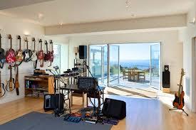 Interior Design Open Patio Home Music Studios