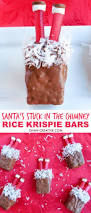 Rice Krispie Christmas Trees White Chocolate by Santa U0027s Stuck In The Chimney Rice Krispie Bars Oh My Creative
