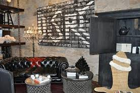Modern Home Charming Industrial Rustic Designs Digital Imagery With Hardwood Table And Brick Wall Panels Depot Also Bell Jar Pendant Lights