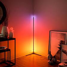 moderne led ecke boden len wohnzimmer stehende dekorative atmosphäre le schlafzimmer dekoration stehen lichter innen beleuchtung