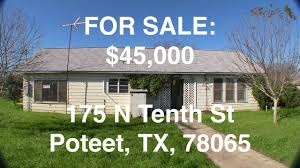 100 Houses For Sale In Poteet Texas HUD Homes HUD King Tours 175 N Tenth St