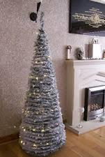 Black Pre Lit Pop Up Christmas Tree by Pre Lighted Christmas Trees Ebay