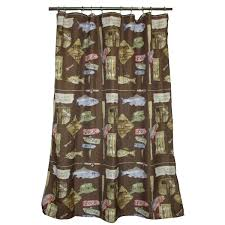 Camping Themed Shower Curtain • Shower Curtain Ideas