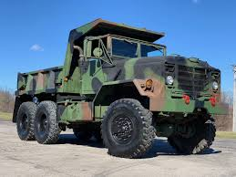 100 5 Ton Army Truck 1991 BMY M929a2 Military 6x6 Dump Midwest Military