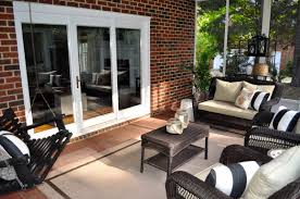 Target Outdoor Cushions Chairs by The Collected Interior A Screened Porch Refresh Reveal