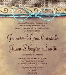 Rustic Wedding Reception Invitation PSD Format