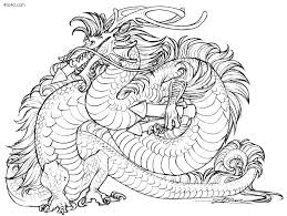 Draw Dragon Coloring Pages For Adults 42 Picture Page With