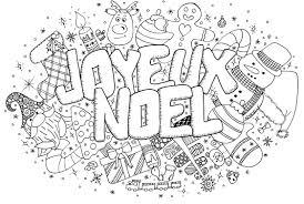 Doodle Noel Coloriages De Noël Coloriages Enfants Biboon Inside