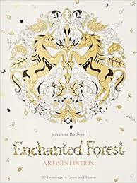 Amazon Enchanted Forest Artists Edition 20 Drawings To Color And Frame 9781780677859 Johanna Basford Books