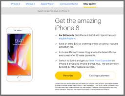 Free iPhone 8 Sprint s Improved Trade In Deal e Ups Verizon ATT