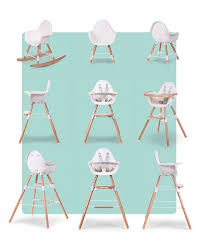 Childwood Evolu 2 Chair, Evolutive High Chair + Kids Chair, White ...