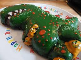schokoladen kuchen dino silikonbackform haba