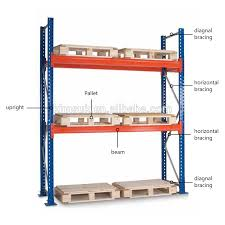 2017 Warehouse Rack Racking System Automatic Pallet