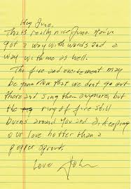 June Love Letter From House of Cash By John Carter Cash