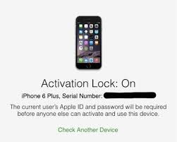 Before ing a used iPhone or iPad check Activation Lock