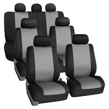 100 Neoprene Truck Seat Covers 3 Row Car For SUV VAN TRUCK Airbag Compatible