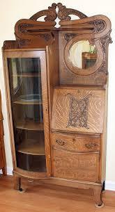 Beautiful Antique Oak Secretary Http portlandaigslist