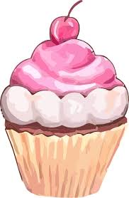 Free Pink Cupcake Clip Art