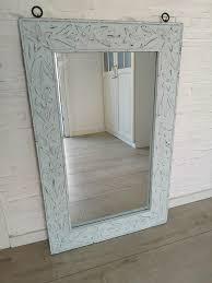 spiegel dekoration shabby chic deko badezimmer bad
