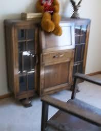 Antique Secretarys Desk by Antique Break Front Secretary Desk Bookcase Display Cabinet For