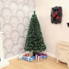 6ft Pre Lit Christmas Tree Tesco by Fibre Optic Christmas Trees